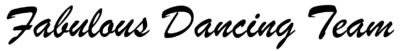 Fabulous Dancing Team signature